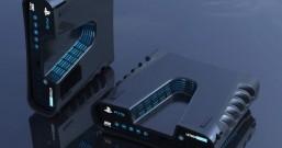 外媒晒PS5游戏开发机渲染图:深V造型 根据专利图打造