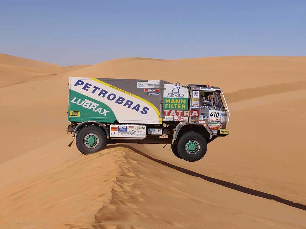 沙漠跑车拉力赛