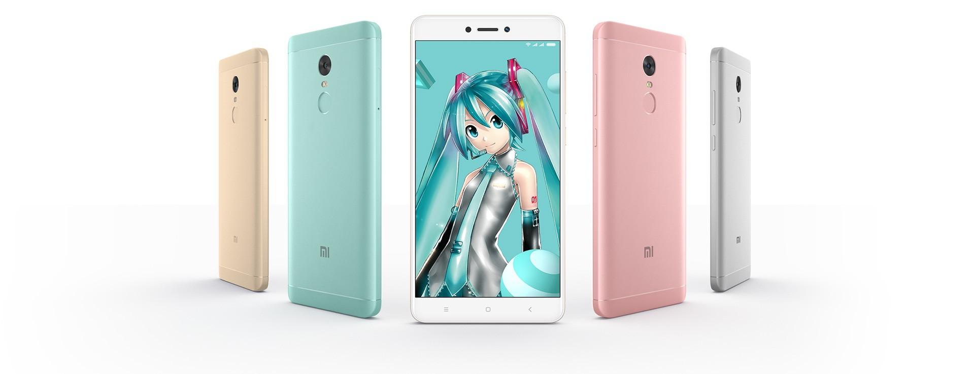 红米Note 4X初音未来