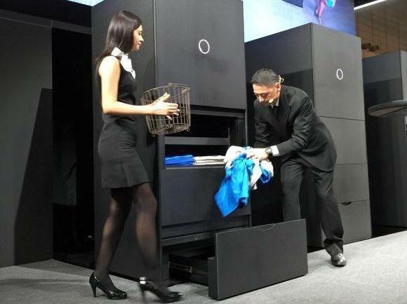 日本懒人自动叠衣机