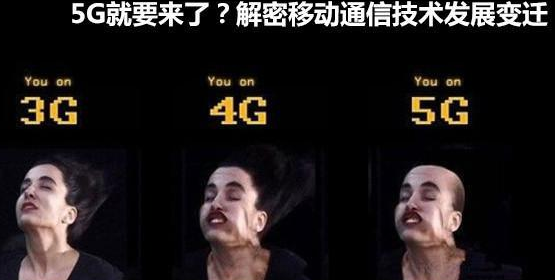 从2G,3G,4G,再到现在的5G,速度会更快多少?