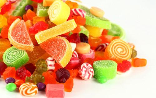 小孩子喜欢吃的糖