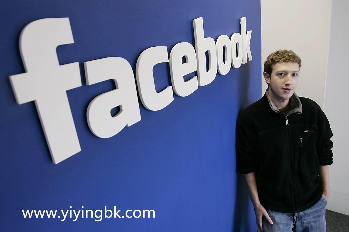 facebook和比伯扎克伯格