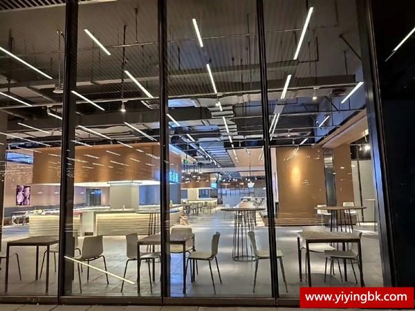 小米最新办公楼内部夜景