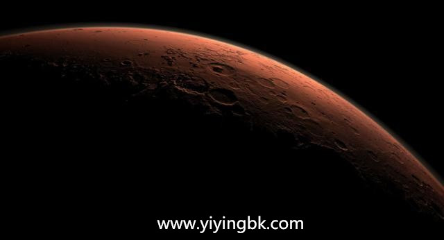 宇宙中真实的火星照片