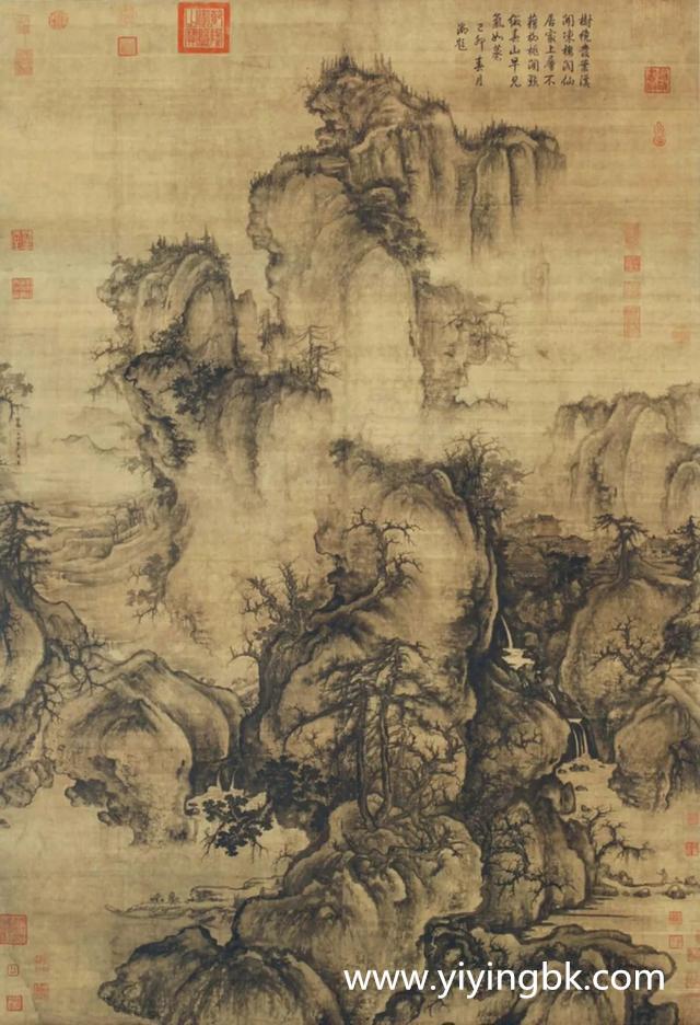 北宋著名画家郭熙的《早春图》